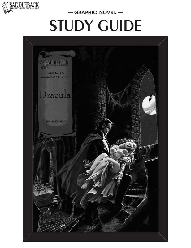 Dracula Graphic Novel Study Guide (Digital Download)