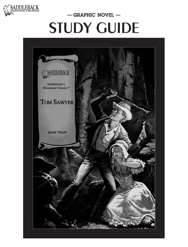 The Adventures of Tom Sawyer Graphic Novel Study Guide (Digital Download)