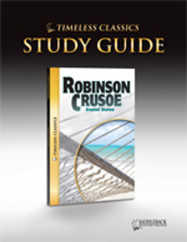 Robinson Crusoe Study Guide (Digital Download)