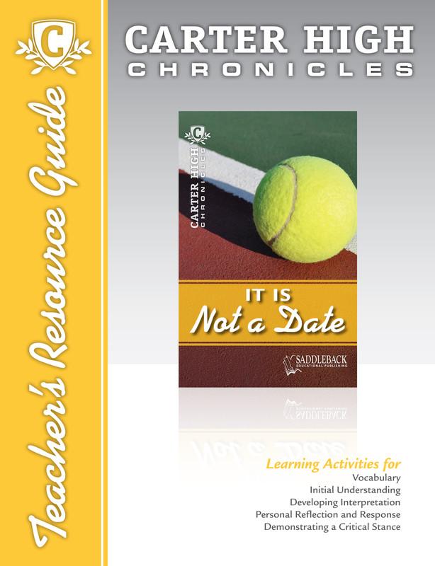 It Is Not a Date Teacher's Resource Guide (Digital Download)