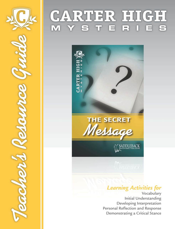 The Secret Message Teacher's Resource Guide (Digital Download)