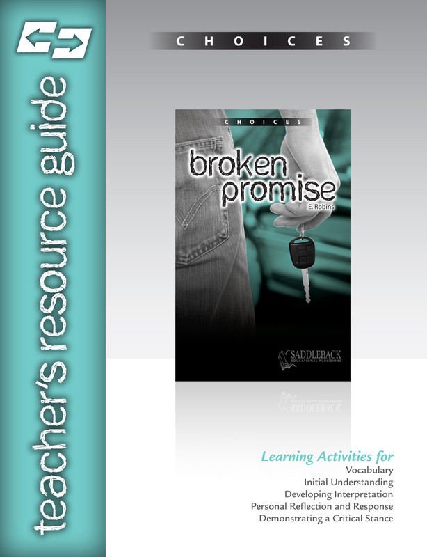 Broken Promise Teacher's Resource Guide(Digital Download)