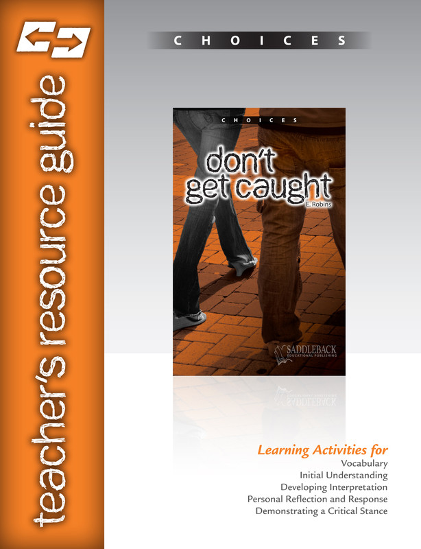 Don't Get Caught Teacher's Resource Guide(Digital Download)