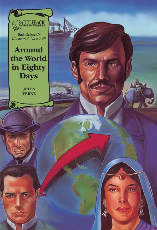Around the World in Eighty Days Graphic Novel Audio (Digital Download)