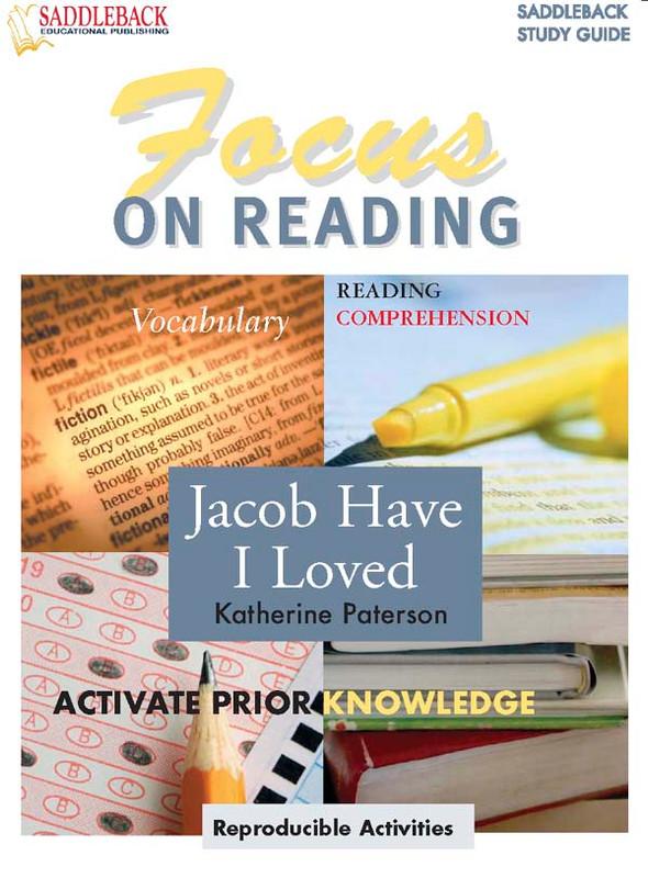 Jacob Have I Loved: Focus on Reading Guide (Digital Download)