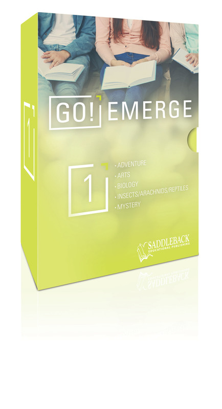 Tween Emergent Reader Libraries Additional Book Set - GO! Emerge  (1 each of 20 titles)