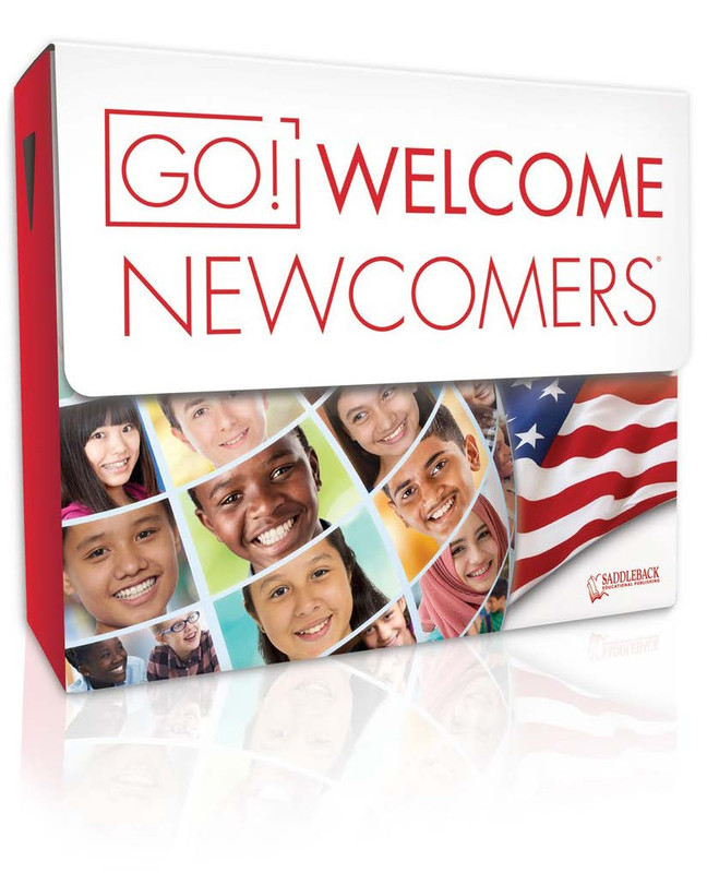 GO! Welcome Newcomers Tween Library (3 each of 28 titles, 140 Vocab Cards + TG)