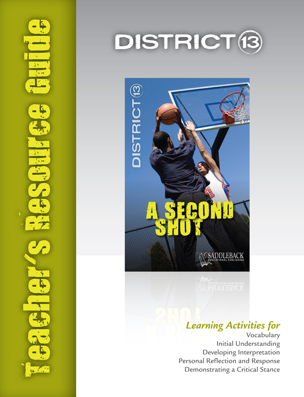 the last time teacher s resource guide saddleback educational publishing