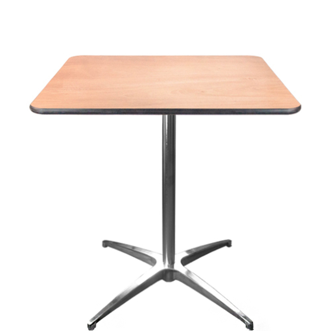 Advantage 30 Inch Square Cafe Table Cafet 30s Square Wooden