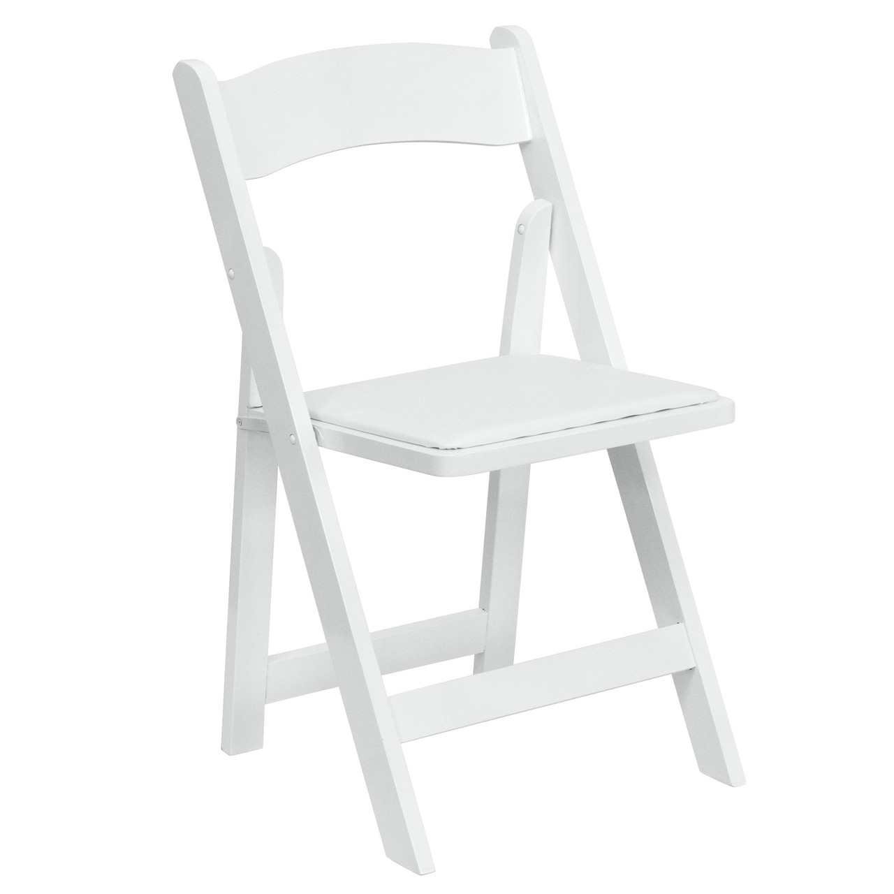 Padded Wood Folding Wedding Chair White Wedding Chairs