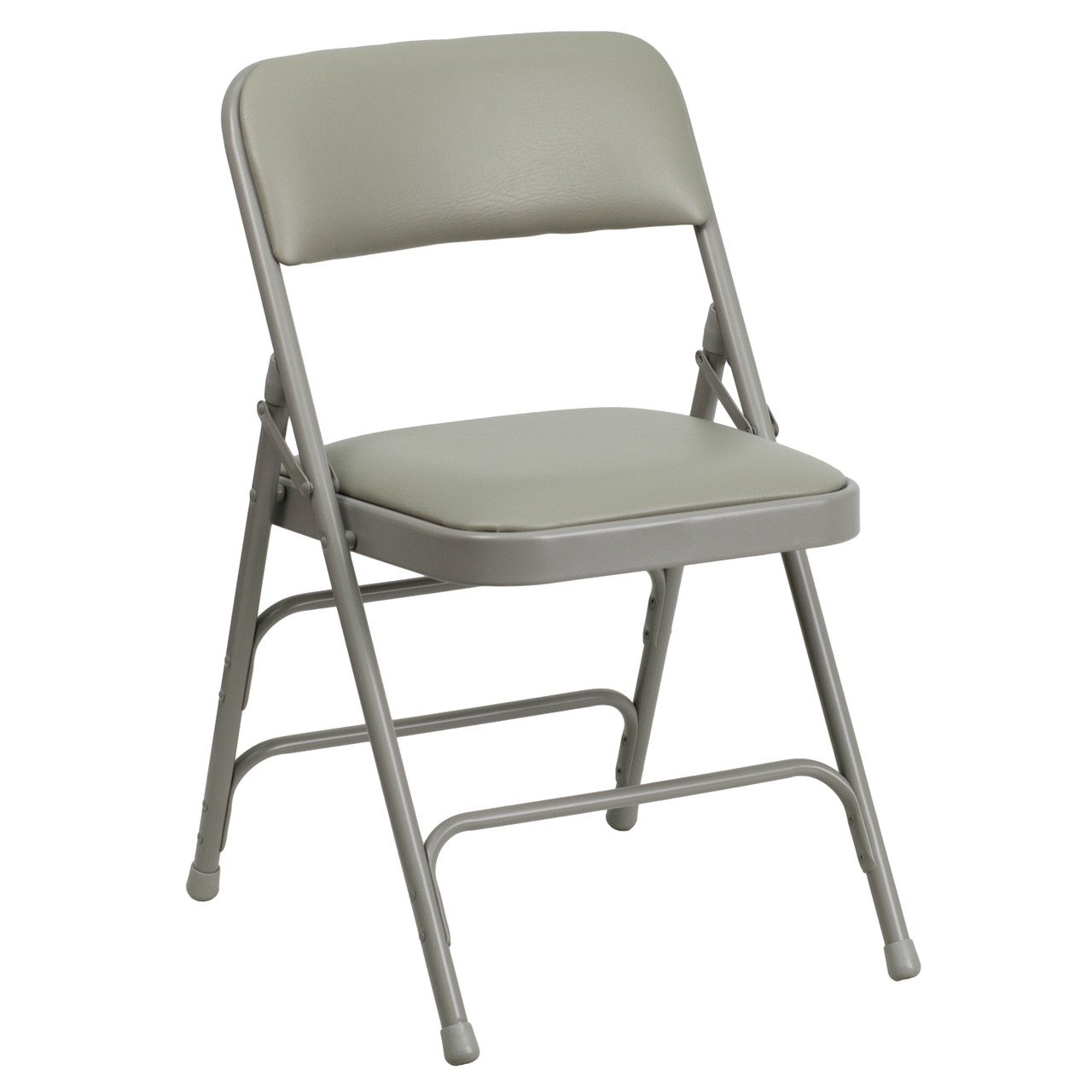 Swell Advantage Grey Padded Folding Chair Dove Grey 1 In Vinyl Seat Ha Mc309Av Gy Gg Pabps2019 Chair Design Images Pabps2019Com