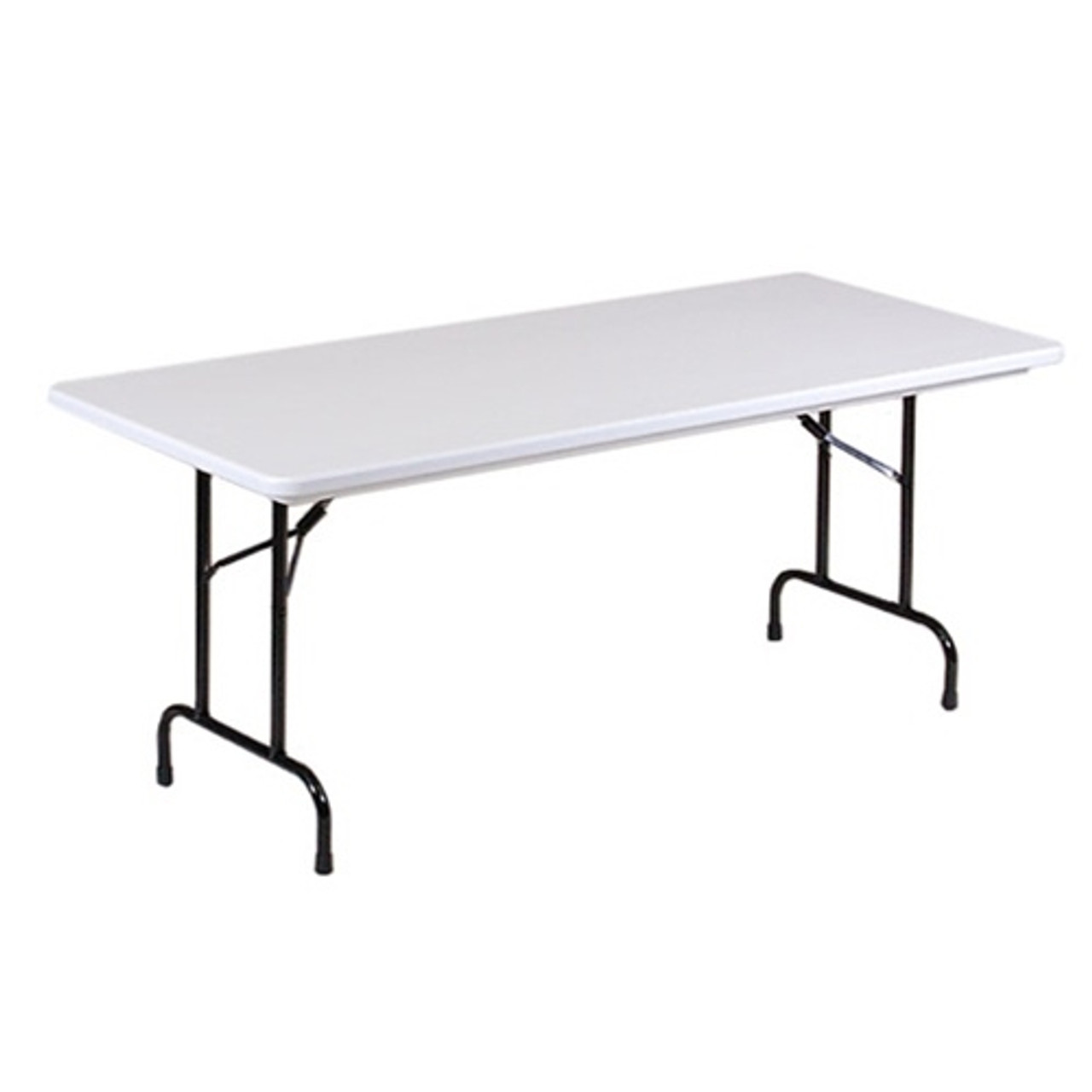 - Correll R3096 8-ft Long Plastic Folding Tables For Sale At