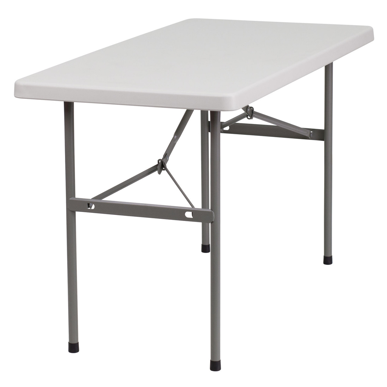 - 4 Ft Lightweight Plastic Folding Table [RB-2448-GG