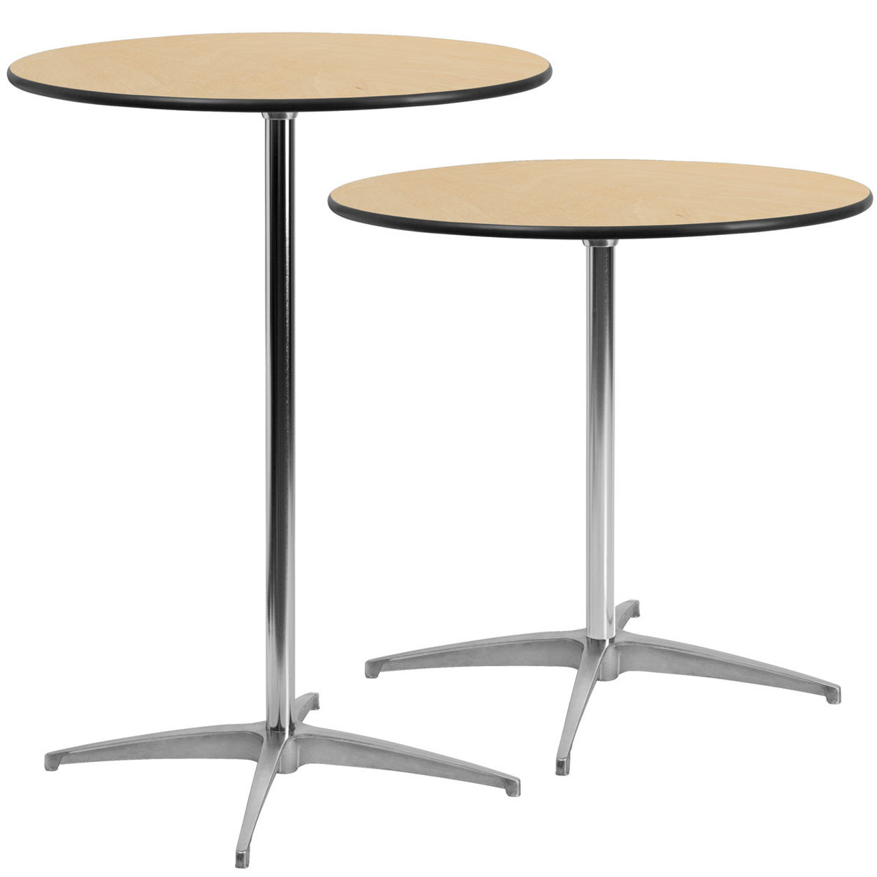 Miraculous Advantage 30 Inch Round Cafe Table Bfdh 30Pedtblrd Tdr Theyellowbook Wood Chair Design Ideas Theyellowbookinfo