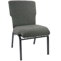 Advantage Charcoal Gray Discount Church Chair - 21 in. Wide [EPCHT-111]
