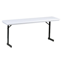 Correll R1872TL 6-ft Plastic Folding Seminar Table