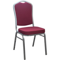 Advantage Burgundy Banquet Chair - Crown Back [CBBC-102] ***CLOSEOUT***