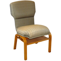 Advantage Custom Church Chairs with Solid Wood Frame [WPCHT-200]
