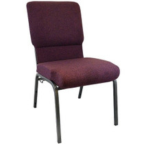 Advantage Grape / Amethyst Church Chairs 18.5 in. Wide [PCHT185-103]- ****CLOSEOUT****