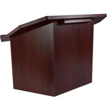 Advantage Mahogany Folding Wood Lectern [TT-Lectern-Mahogany]