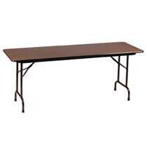 Correll CF2472P 6-ft Folding Table