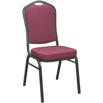 Advantage Burgundy Pattern Banquet Chair [CBBCSE-10]
