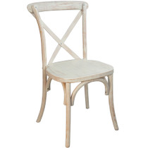 Advantage Lime Wash X-Back Chair [X-back-LW]