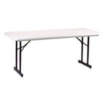 "Correll R3096TL 30""x96"" Plastic Folding Seminar Table"