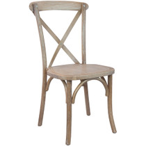 Advantage Driftwood X-Back Chair [X-back-DRIFT]