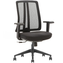 Advantage Black Mesh Office Chairs [X1-03S-2]
