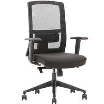 Advantage Black Mesh Office Chairs [X3-52BT-MF]