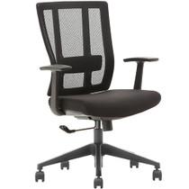 Advantage Black Mesh Office Chairs [X3-55BT-1]