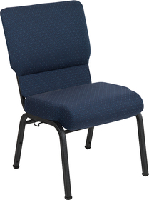 Advantage 20.5 in. Cobalt Molded Foam Church Chair [PCCF-118]