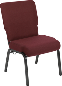 Advantage 20.5 in. Maroon Molded Foam Church Chair [PCCF-104]
