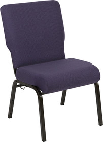 Advantage 20.5 in. Royal Purple Molded Foam Church Chair [PCCF-110]