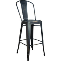 Advantage Brushed Copper Tolix Bar Stool [TC-BAR-Brushed-Copper]