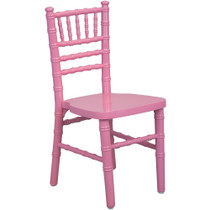 Advantage Kids Pink Wood Chiavari Chair [KID-WDCHI-Pink] **** CLOSEOUT ****