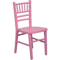 Advantage Kids Pink Wood Chiavari Chair [KID-WDCHI-Pink] **** CLOSEOUT ****