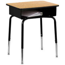 Student Desk | Metal Open Front | Advantage Series