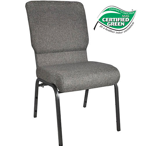 Advantage Charcoal Gray Church Chair 18.5 in. Wide [PCHT185-111]