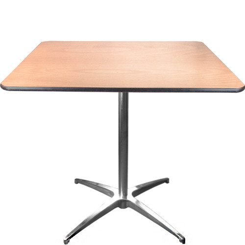Advantage 36-inch Square Cafe Table [CAFET-36S]
