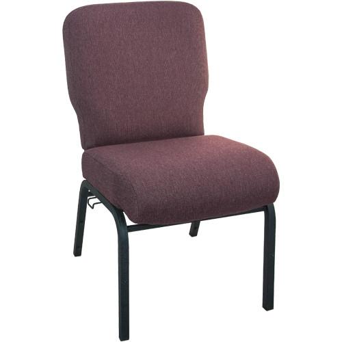Advantage Signature Elite Black Cherry Church Chair [PCRCB-116] - 20 in. Wide