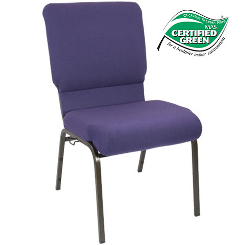 Advantage Eggplant Church Chairs 18.5 in. Wide [PCHT185-115]
