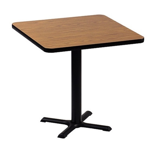Correll BXB30S 30-in Square Bar Height Cafe Table