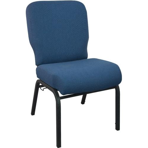 Advantage Signature Elite Navy Church Chair [PCRCB-101] - 20 in. Wide