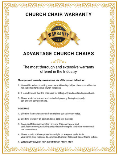 Walnut Church Chairs Signature Elite Church Chairs For