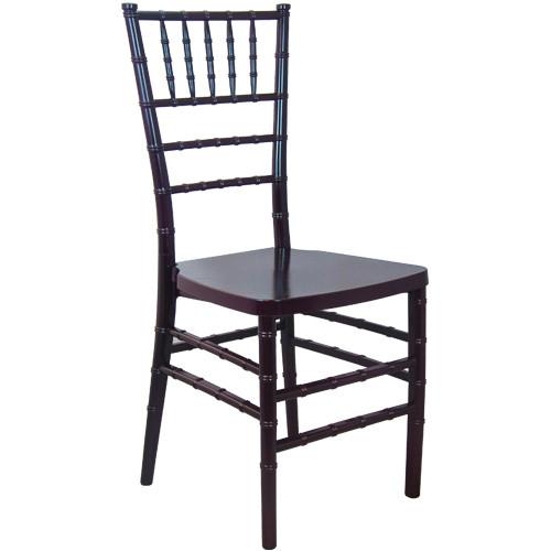 Advantage Mahogany Monoblock Resin Chiavari Chair [RSCHI-MONO-M]