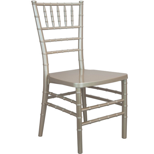 Advantage Champagne Monoblock Resin Chiavari Chair [RSCHI-MONO-C]
