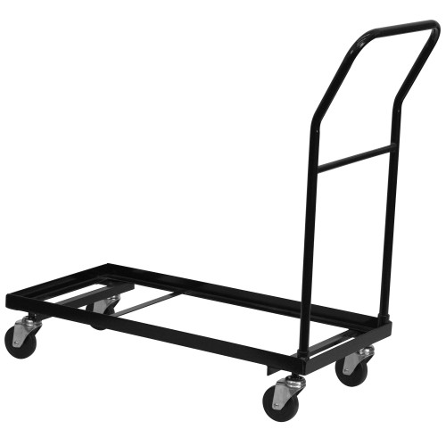 Advantage Folding Chair Caddy - Dining Height Folding Chairs [HF-700-DOLLY-GG]