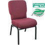 Advantage Signature Elite Maroon Church Chair [PCRCB-104] - 20 in. Wide